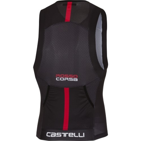 Castelli Men's Free Tri Top - Back
