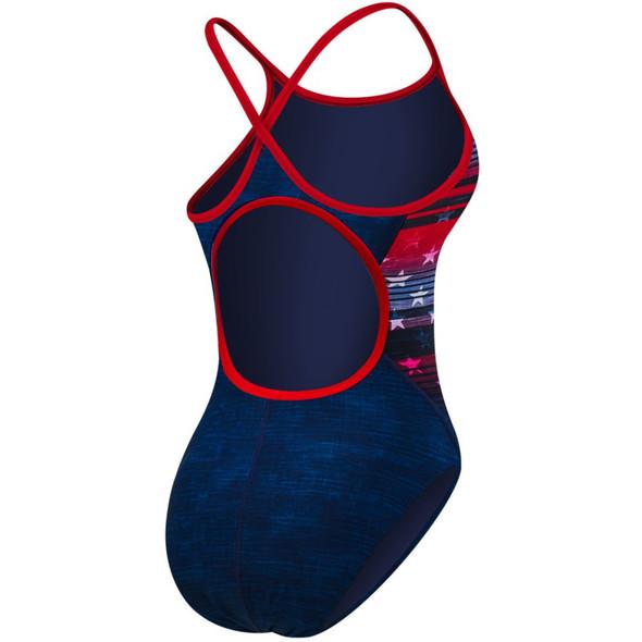 TYR Women's Liberty Diamondfit Swimsuit - Back