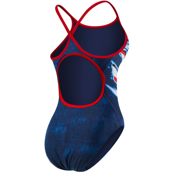 TYR Women's Live Free Diamondfit Swimsuit - Back