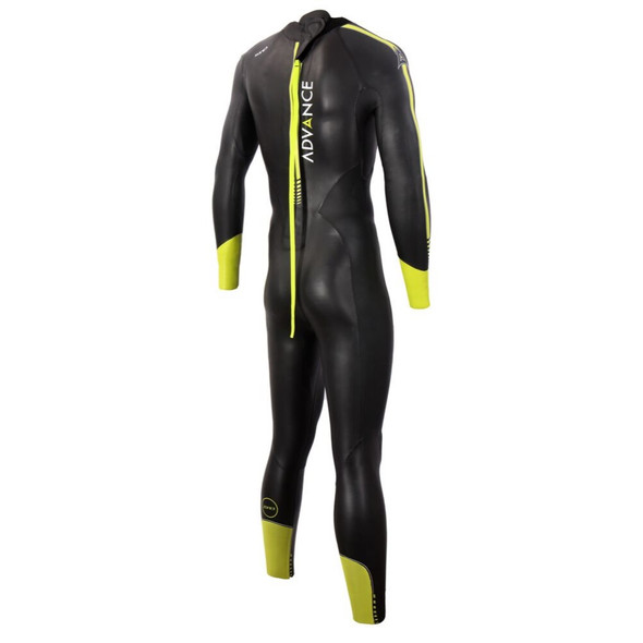 Zone3 Men's Advance Wetsuit - Back