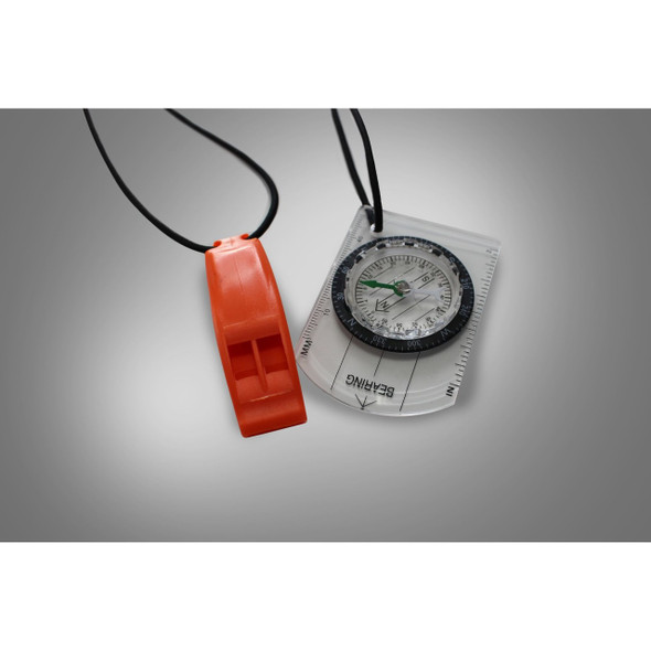 Zone3 SwimRun Compass and Whistle Bungee Combo