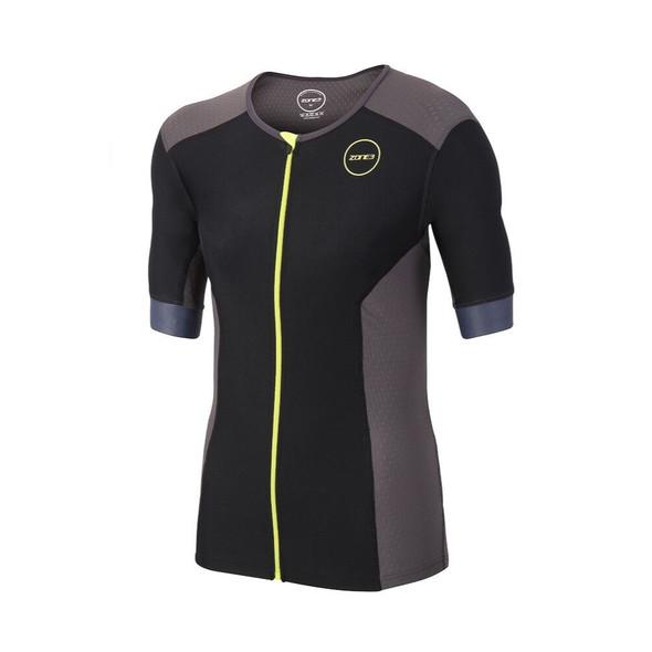 Zone3 Men's Aquaflo Plus Short Sleeve Tri Top