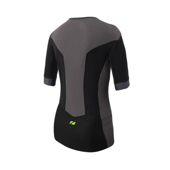 Zone3 Men's Aquaflo Plus Short Sleeve Tri Top - Back