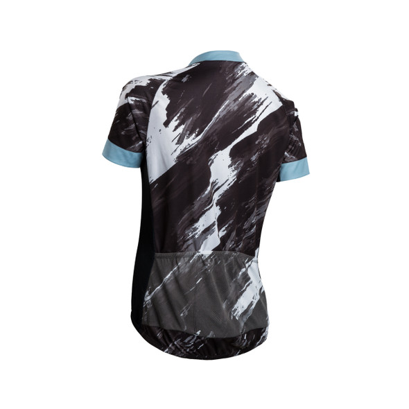 Sugoi Women's Evolution Zap Brush Print Bike Jersey - Back