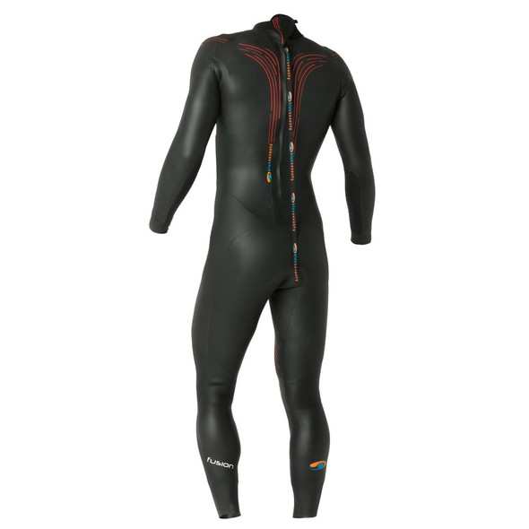 Blue Seventy Men's Fusion Full Sleeve Wetsuit - Back