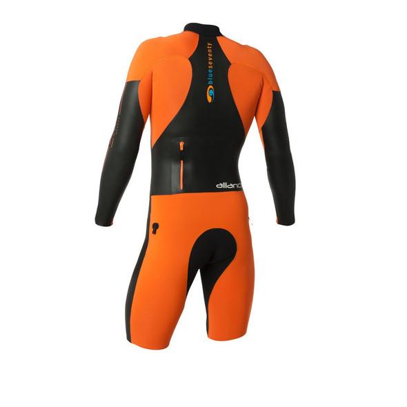 Blue Seventy Men's Alliance SwimRun Wetsuit - Back