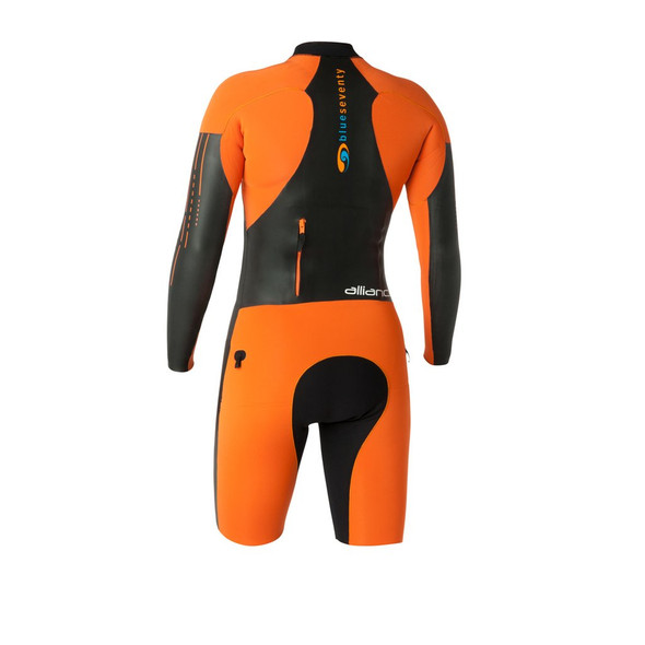 Blue Seventy Women's Alliance SwimRun Wetsuit - Back