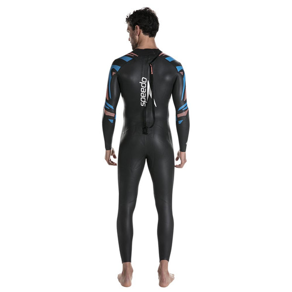 Speedo Men's Fastskin Proton Full Sleeve Wetsuit - Back