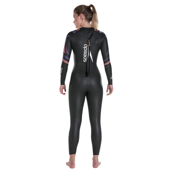 Speedo Women's Fastskin Proton Full Sleeve Wetsuit - Back
