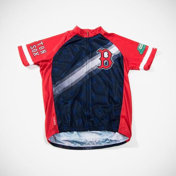 Primal Wear Men's Boston Red Sox V2 Cycling Jersey