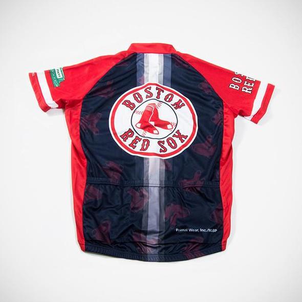 Primal Wear Men's Boston Red Sox V2 Cycling Jersey - Back