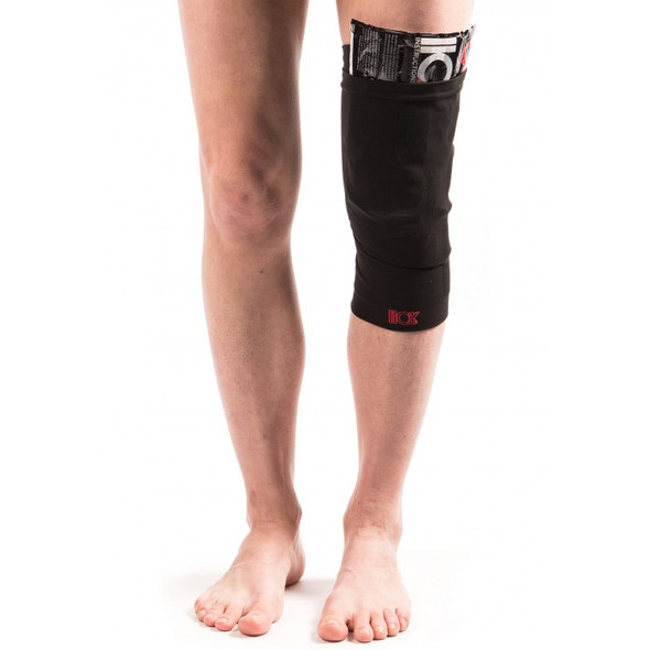 110% Compression Blitz Knee Sleeve + Ice Recovery - On