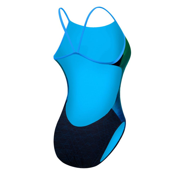 TYR Women's Kinematic Cutoutfit Swimsuit - Back
