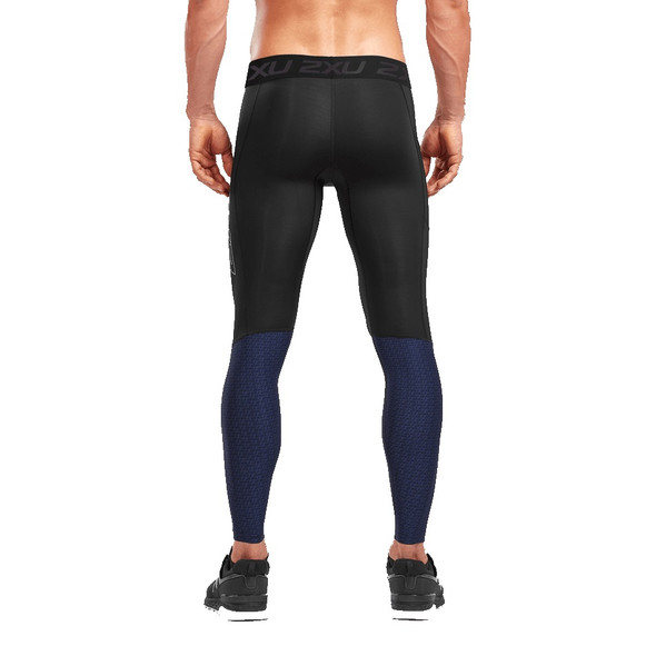 2XU Men's Accelerate Compression Tight with Storage - Back