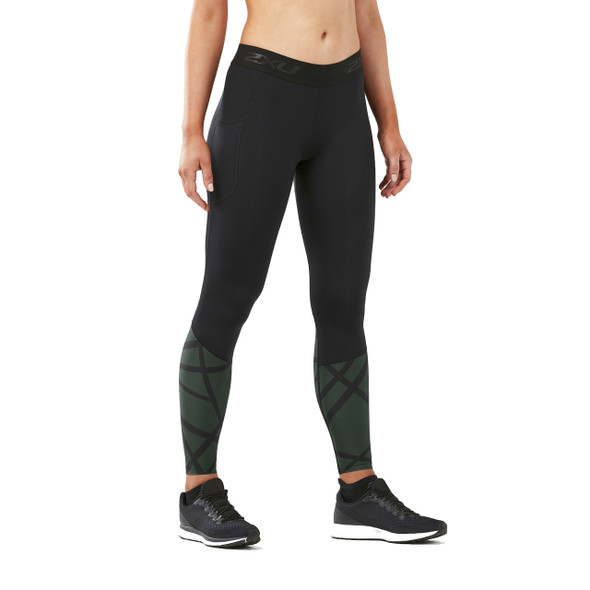2XU Women's Accelerate Compression Tight with Storage