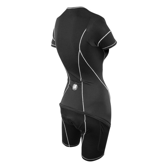 DeSoto Women's Sneak-A-Poo Riviera Flisuit Tri Suit - Back