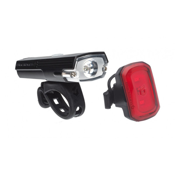 Blackburn Dayblazer 400 Front and Click USB Rear Bike Light Set