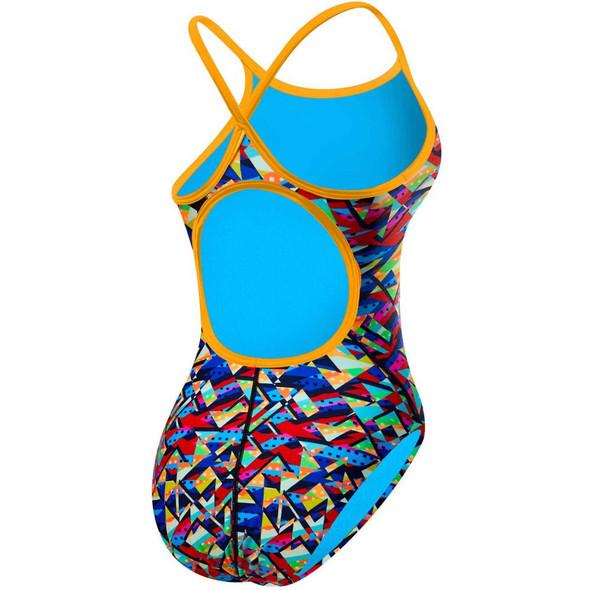 TYR Women's Mosaic Diamondfit Swimsuit - Back
