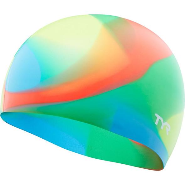 TYR Tie Dye Junior Swim Cap