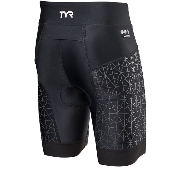"TYR Women's Competitor 6"" Tri Short - Back"