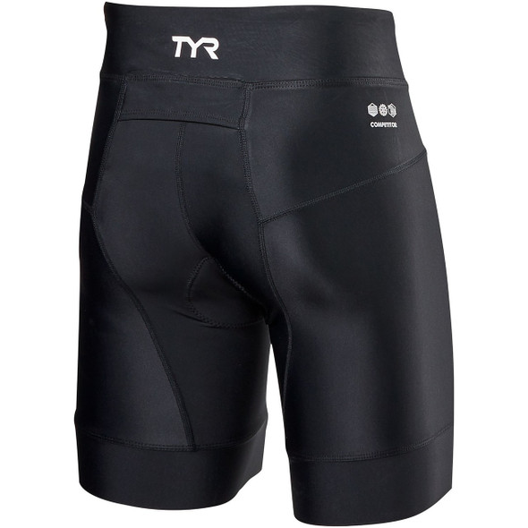 "TYR Women's 7"" Competitor Core Tri Short - Back"