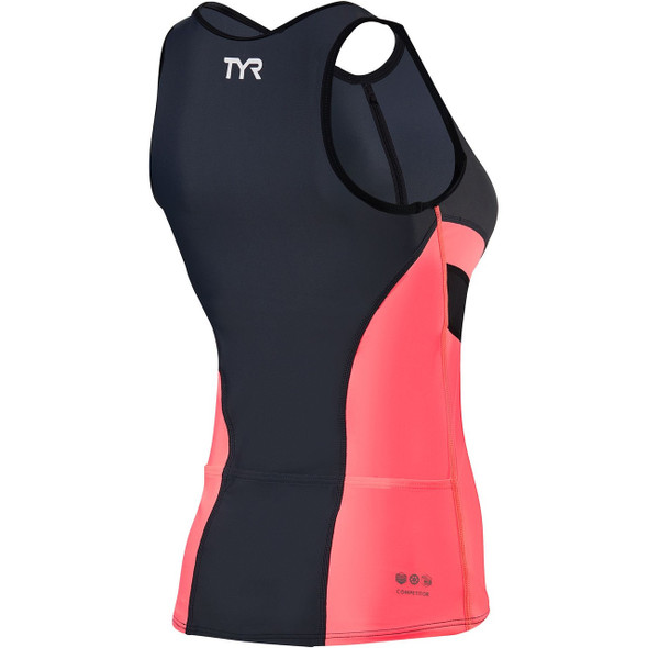 TYR Women's Competitor Tri Singlet - Back