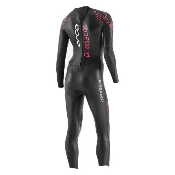 Orca Women's Predator Wetsuit - Back