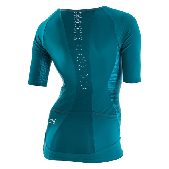 Orca Women's 226 Perform Tri Jersey - Back