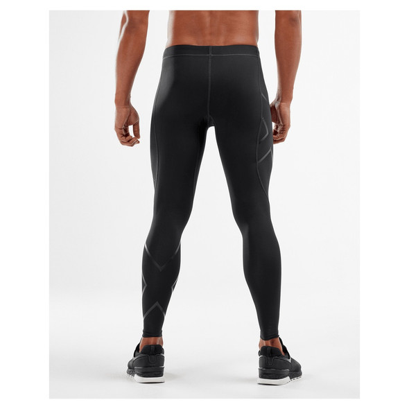 2XU Men's Core Compression Tights - Back