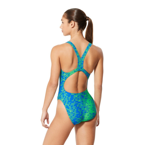Speedo Women's Modern Matrix Super Pro Swimsuit - Back