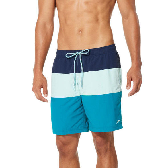 Speedo Men's Colorblock Volley Swim Short