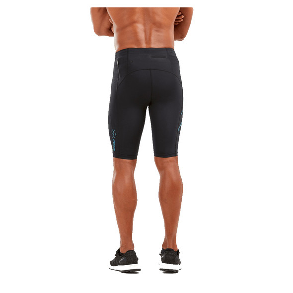 2XU Men's MCS Run Compression Shorts - Back