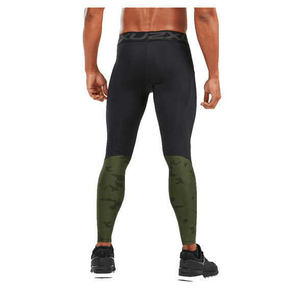 2XU Men's G2 Accelerate Compression Tight with Storage - Back