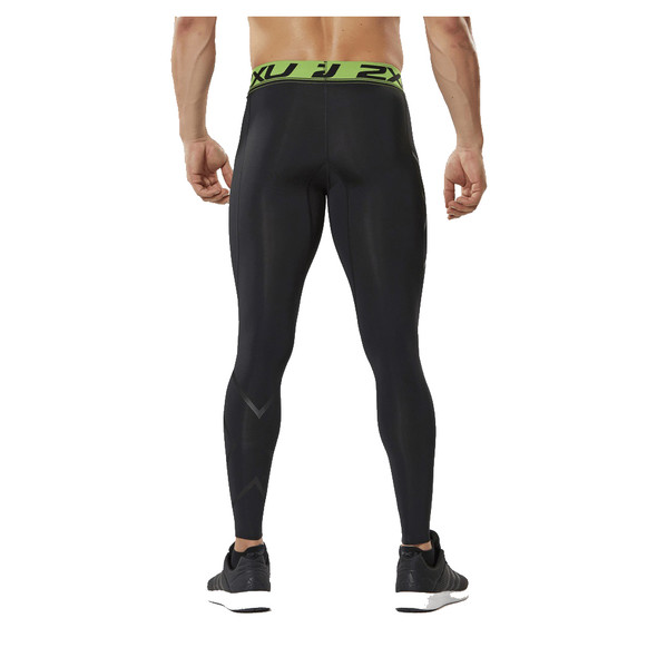2XU Men's Refresh Recovery Compression Tights - Back