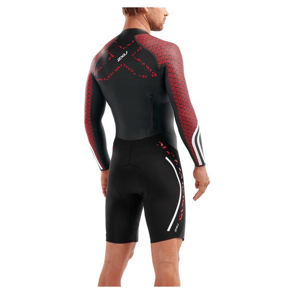 2XU Men's SwimRun Pro Wetsuit - Back