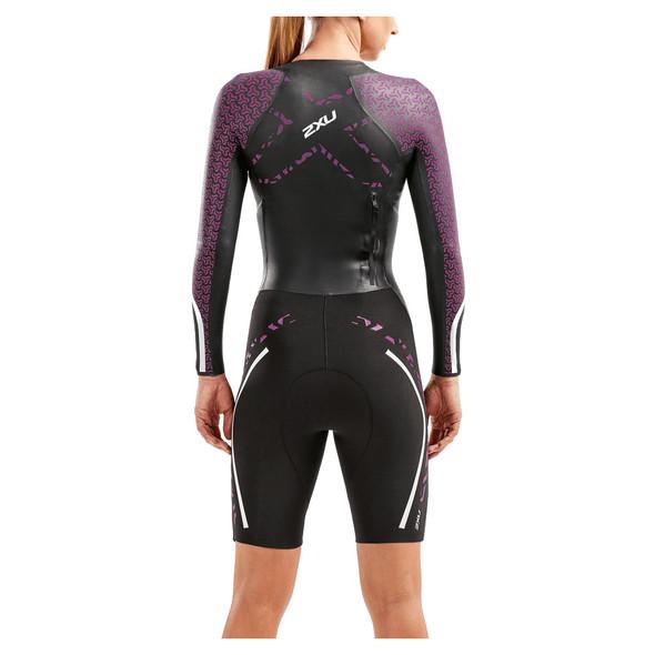 2XU Women's SwimRun Pro Wetsuit - Back