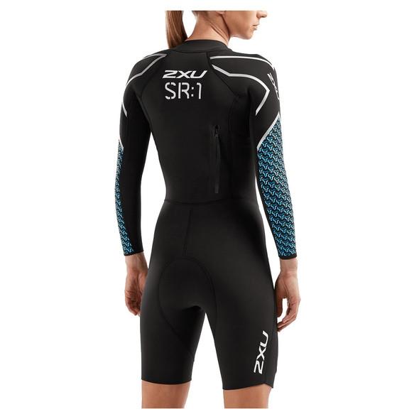 2XU Women's SwimRun SR1 Wetsuit - Back