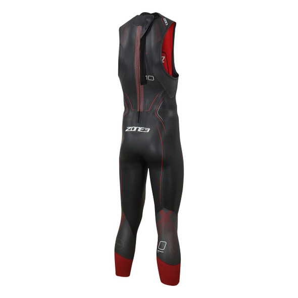 Zone3 Men's Aspire Sleeveless Wetsuit - Back
