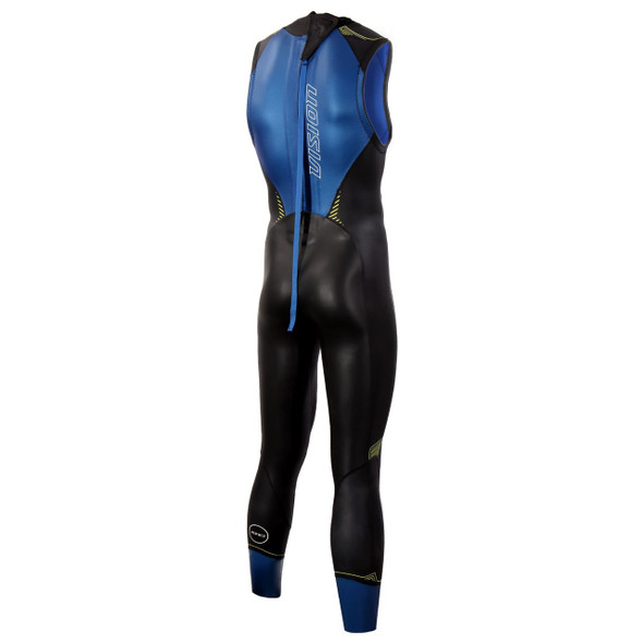 Zone3 Men's Vision Sleeveless Wetsuit - Back
