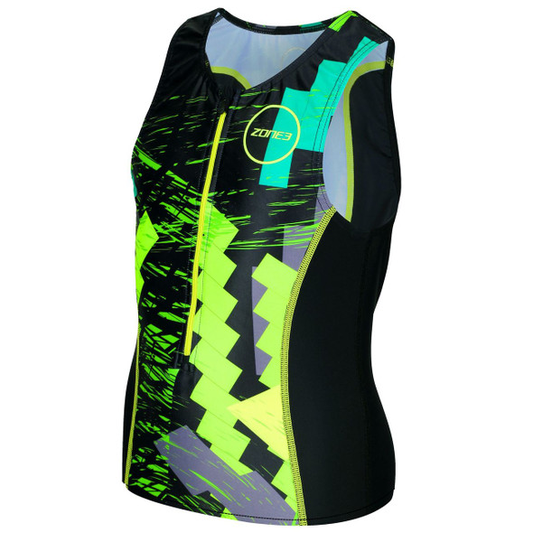 Zone3 Kid's Digital Print Tri Top