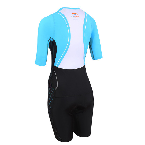 Blue Seventy Women's TX2000 Short Sleeve Tri Suit - Back