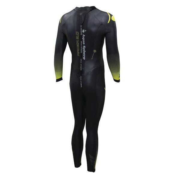 Aqua Sphere Men's Racer 2.0 Wetsuit - Back