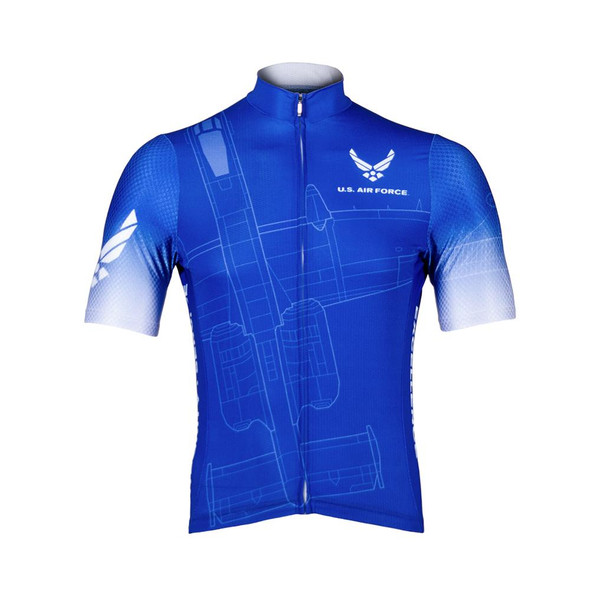 Primal Wear Men's Aim High Helix Cycling Jersey