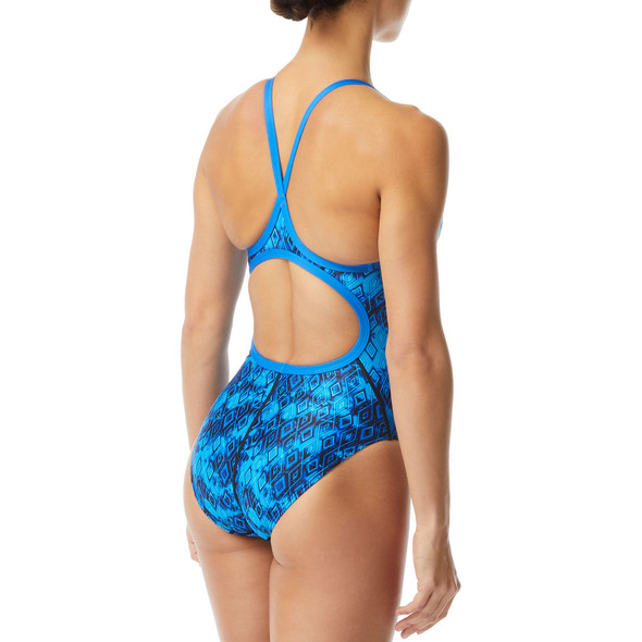 TYR Women's Glacial Diamondfit Swimsuit - Back