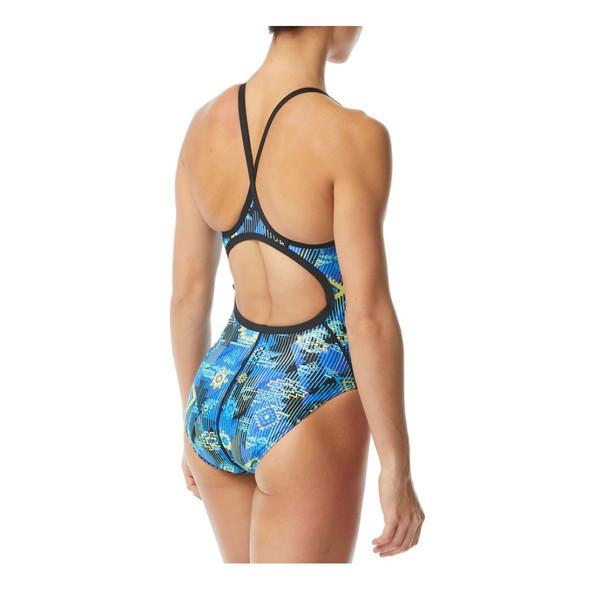 TYR Women's Azoic Diamondfit Swimsuit - Back