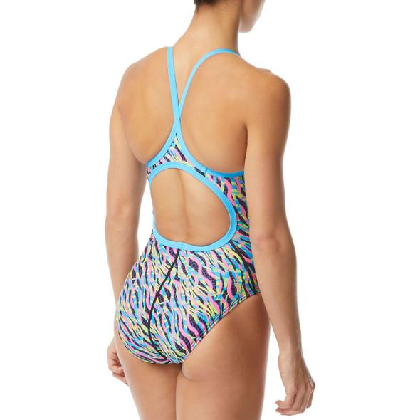 TYR Women's Zazu Diamondfit Swimsuit - Back