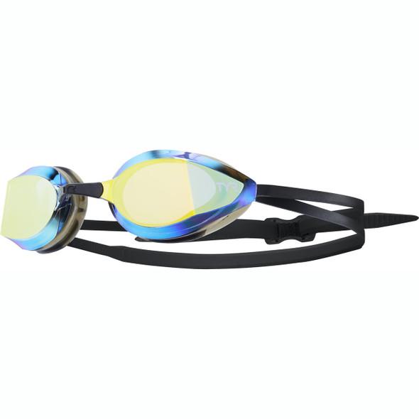 TYR Edge X Nano Fit Mirrored Racing Goggle