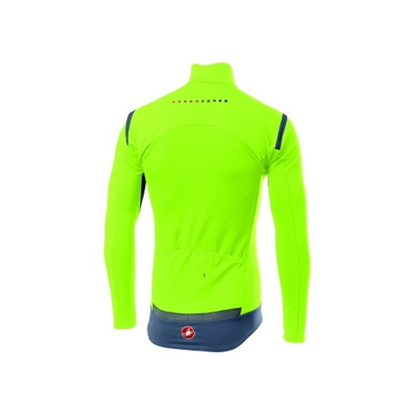 Castelli Men's Perfetto RoS Long Sleeve Jacket - Back