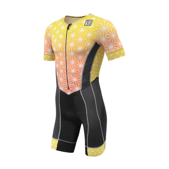 DeSoto Men's Forza Flisuit Sleeved Tri Suit