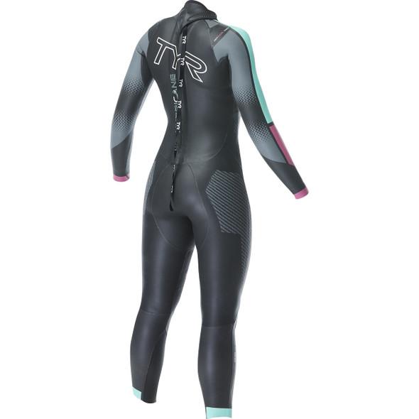 TYR Women's Hurricane Cat-5 Wetsuit - Back